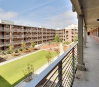 ECU Scott Residence Hall Exterior Quad 2