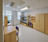 ECU Scott Residence Hall Interior Dorm Room