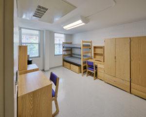 ECU Scott Residence Hall Interior Dorm Room