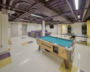 ECU Scott Residence Hall Interior RecRoom
