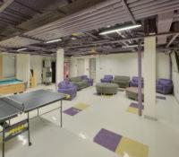 ECU Scott Residence Hall Interior Commons