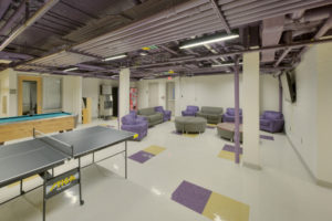 ECU Scott Residence Hall Interior Commons