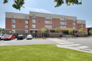 ECU Scott Residence Hall Exterior Back 2