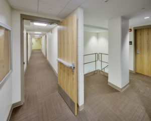 ECU Tyler Residence Hall Interior Hall