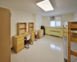 ECU Tyler Residence Hall Dorm Room