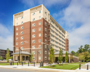 ECU Tyler Residence Hall Exterior