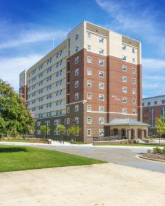 ECU Tyler Residence Halls Exterior 3
