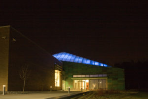 Research Triangle Foundation Exterior Night