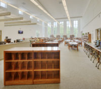 Southeast Guilford Middle & High Schools Interior Media Center
