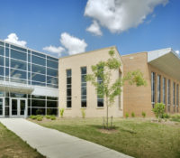 Southeast Guilford Middle & High Schools Exterior Entrance