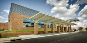 Southeast Guilford Middle & High Schools Exterior Portico