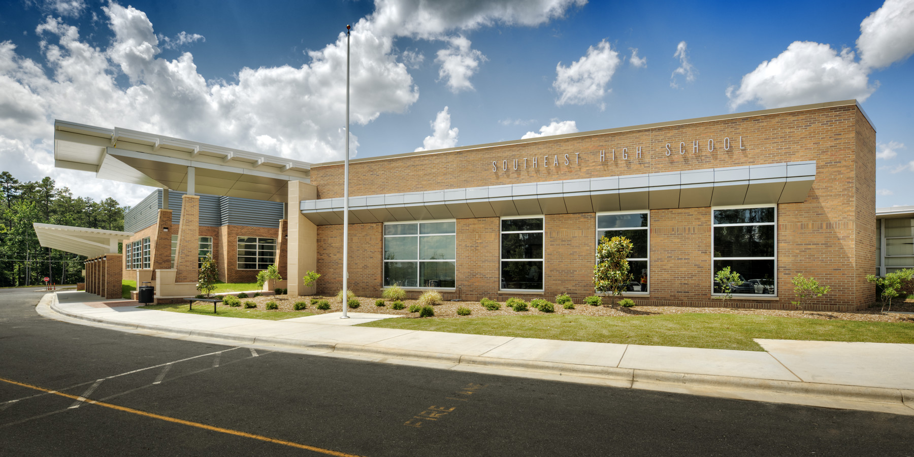 Southeast Guilford Middle Amp High Schools Barnhill Contracting Company