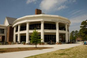 UNC Wilmington Student Union Center Exterior