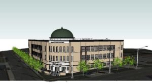 Rowan Salisbury Schools Administration Building Rendering 1