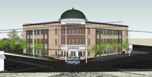 Rowan Salisbury Schools Administration Building Rendering 3
