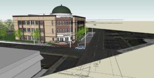 Rowan Salisbury Schools Administration Building Rendering 2