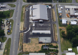Davidson County Law Enforcement Center Aerial 2