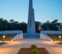 Veterans Park Monument Dusk
