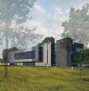 WakeTech Building L Exterior