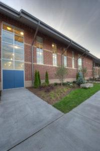 Watauga High School Exterior Corner