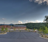 Watauga High School Exterior Far