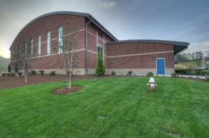 Watauga High School Exterior Side