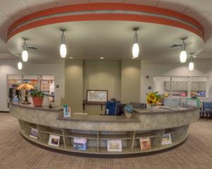 Watauga High School Library Desk