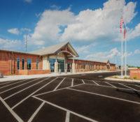 Davidson County Law Enforcement Center Front Parking