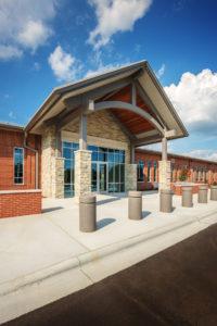 Davidson County Law Enforcement Center Entrance