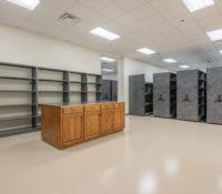 Davidson County Law Enforcement Center Interior Storage