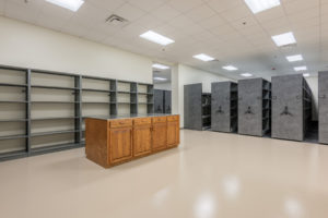 Davidson County Law Enforcement Center Interior Storage