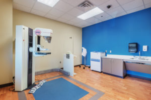 Edgecombe Biotechnology Center Mammography Suite