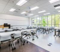 Wake Tech Building L Classroom Lab