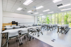 Wake Tech Building L Classroom Lab