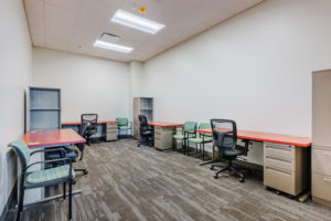 Health Sciences Classroom Lab Construction Wake Tech Building H Workstations