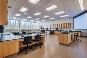 Health Science Classroom Lab Construction Wake Tech Building H Classroom