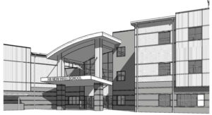 South Garner High School Rendering