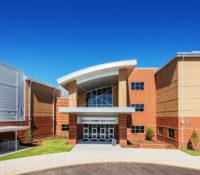 South Garner HS Front Entrance Close