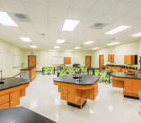 South Garner High School Science Lab K-12 education