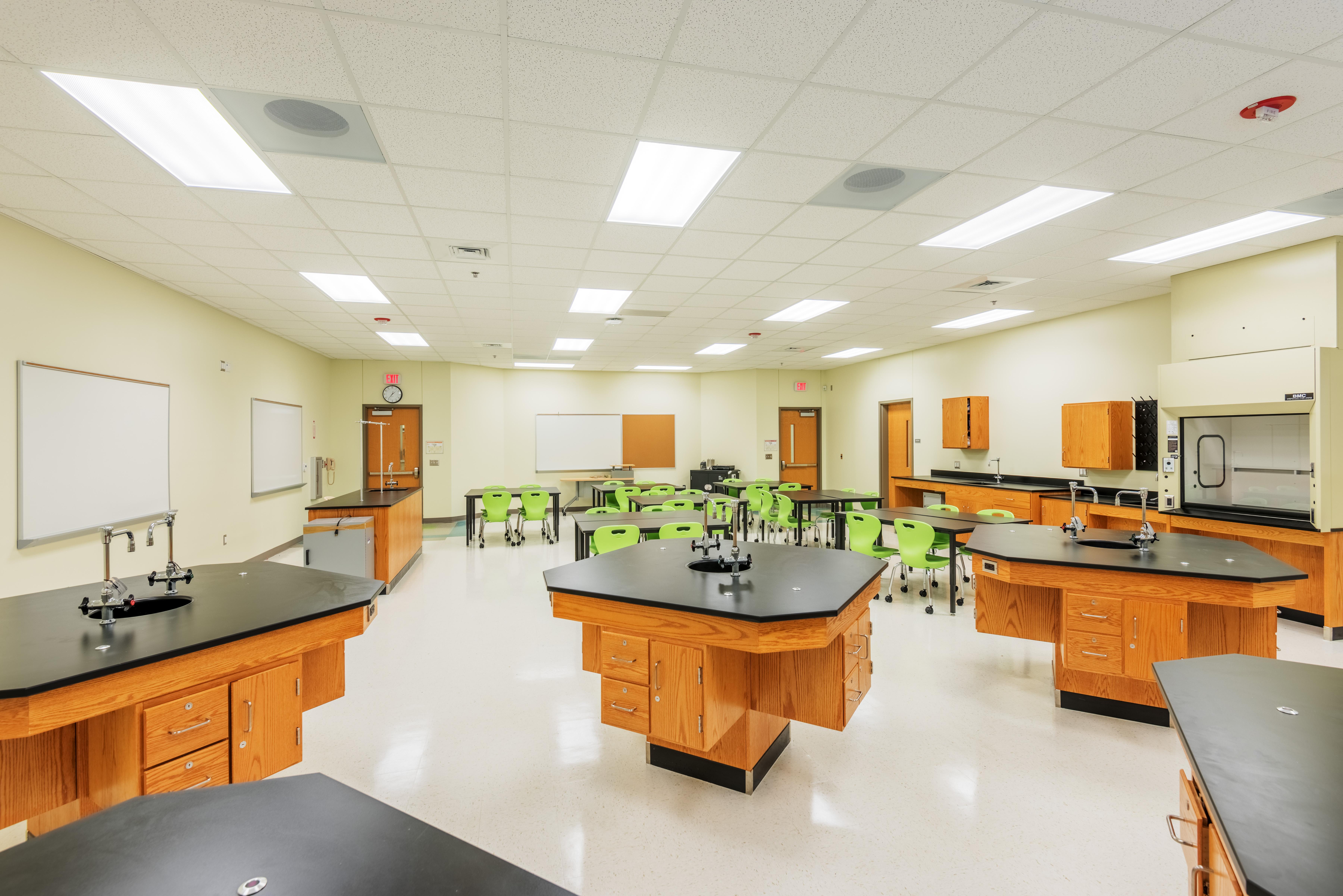 South Garner High School Science Lab Barnhill