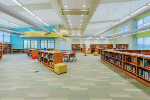 South Garner High School Media Center K-12 education