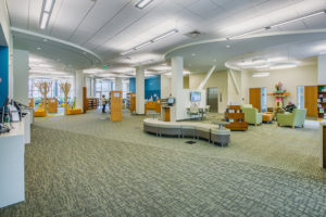 Morrison Library Sitting Area