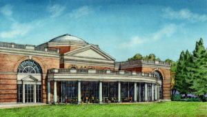Morrison Library Exterior Rendering