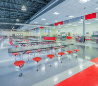 South Mecklenburg High School Cafeteria Far