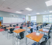 South Mecklenburg High School Classroom