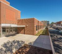 South Mecklenburg High School Wing Entrance