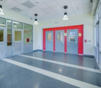 South Mecklenburg Interior Cafeteria Entrance