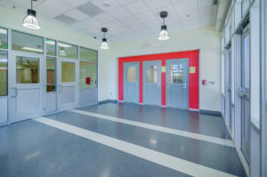South Mecklenburg Interior Cafeteria Entrance