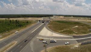 Bragg Boulevard Interchange Traffic