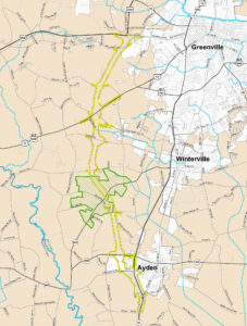 Greenville Bypass Map
